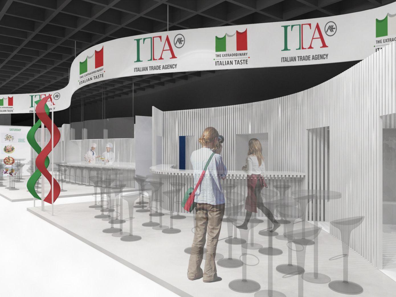 Stand ICE - ITA Agenzia China International Import Expo