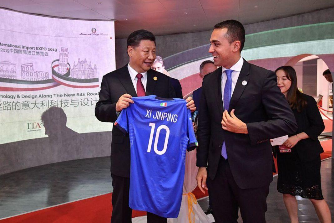 Ministro Luigi Di Maio incontra Presidente cinese Xi Jinping al CIIE 2019